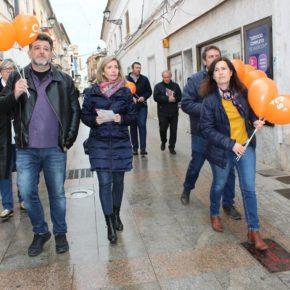 """Arteaga asegura que el modelo de Ciudadanos es el único que garantiza """"las pensiones actuales y también las de nuestros nietos"""""""