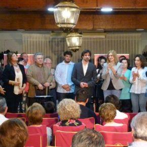 Mario Artesero, candidato a la alcaldía, y Carmen Picazo, candidata a la presidencia de Castilla-La Mancha, presentan las listas de Ciudadanos.