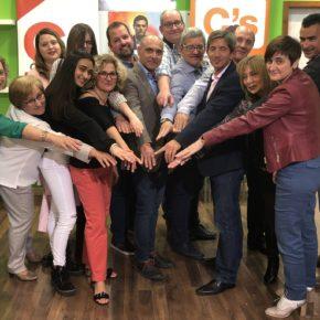 Ciudadanos Caudete ha presentado su candidatura a las elecciones municipales   encabezada por José Vicente Alagarda.