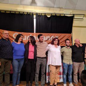 Ciudadanos Barrax realiza su presentación de candidatura y propuestas en un salón del Ayuntamiento lleno.