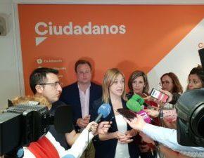 """Carmen Picazo: """"Estamos contentos porque hemos logrado entrar con fuerza en las Cortes Regionales"""""""