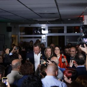 Inés Arrimadas anima a los albaceteños a votar el próximo 10N para vencer al bipartidismo