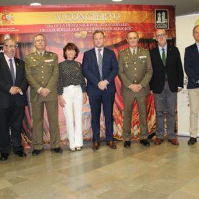 El alcalde asistió al V Concierto Día de la Fiesta Nacional organizado por la Subdelegación de Defensa