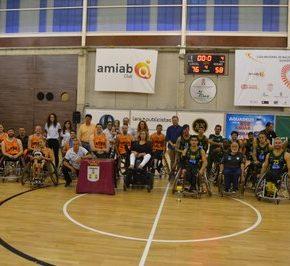 El alcalde participó en la entrega de premios del VII Torneo Ciudad de Albacete de Baloncesto en Silla de Ruedas