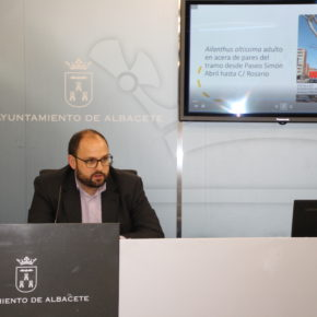 Arrancan las obras de remodelación de la calle Arquitecto Vandelvira que estarán finalizadas en ocho meses