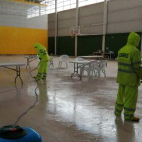 Las brigadas de desinfección del Servicio Contra Incendios de Albacete intensifican su labor