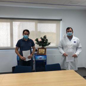 El Ayuntamiento de Robledo y Aquadeus firman un convenio para la creación de empleo local