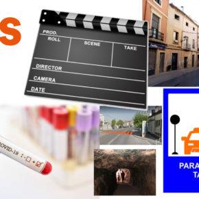 El aumento de las pruebas del serología, la parada de taxis en la feria, un futuro festival de cine y cortometrajes... Artesero ha hecho balance del primer año de mandato.