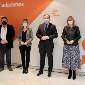 """La nueva junta directiva del Comité Provincial de Ciudadanos reivindica el centro: """"Ahora es más necesario que nunca"""""""