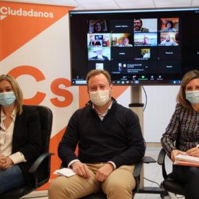 """Carmen Picazo: """"En Ciudadanos escuchamos a los afiliados, es momento de sumar"""""""