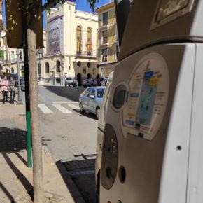 Cs Hellín presenta una iniciativa para habilitar el pago de la zona azul a través del móvil